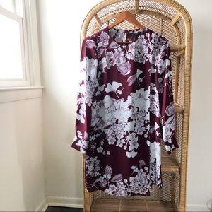BCBG Maxazria NWT Ashton Floral Long Sleeve Dress✨